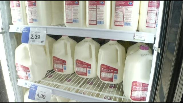 It feels like Americans are paying more for everything lately.  Now, they can add milk to that list.