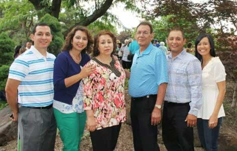 Graciela Olivas and family