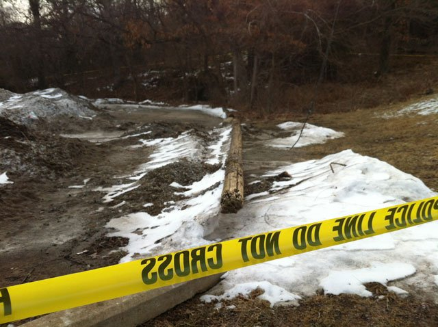 Investigators say the body was found at Pertle Springs, a 300-acre recreational area owned by the university. (Emily Rittman/KCTV5)