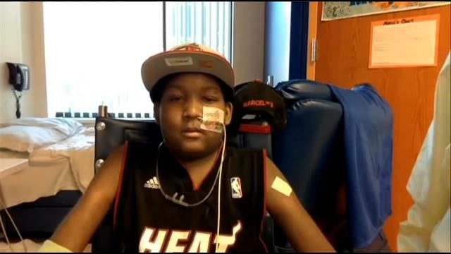 Boy 14 Fighting Blood Disorder Has Dream To Meet Lebron