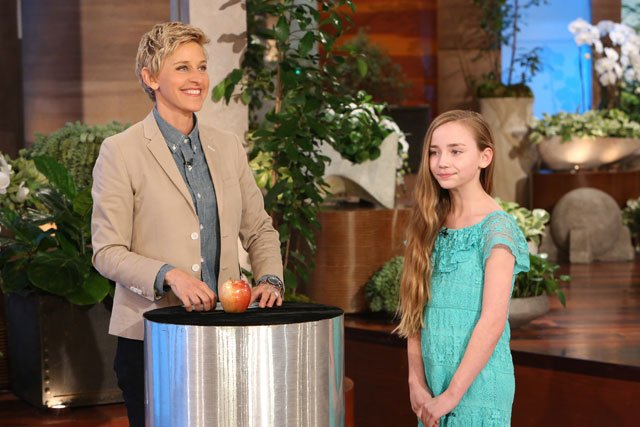 Even though 11-year-old Sophia Hoffman, of Lee's Summit, was named runner-up in the Jackson County Spelling Bee, Ellen DeGeneres wanted to give her a second chance. (Source:The Ellen DeGeneres Show)