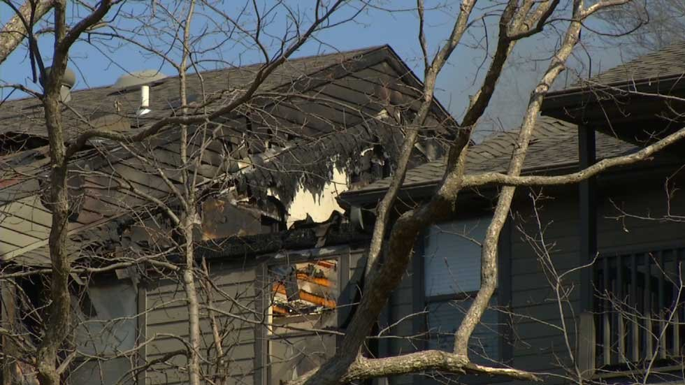 Mission apartments see heavy fire damage - WSMV News 4