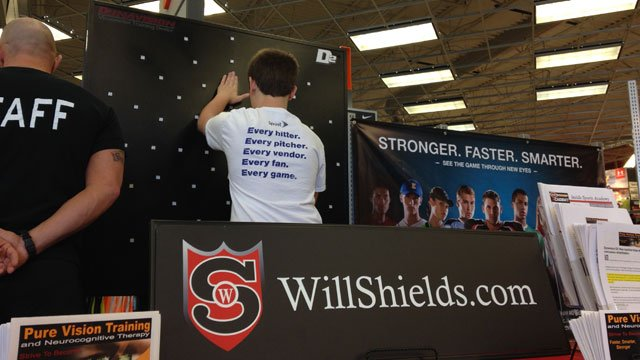 Will Shields and the Brain Association of Kansas and Greater Kansas City will be teaming up at Max Muscle, 15253 W. 135th, in Olathe from noon until 4 p.m. Sunday. (Jamie Oberg/KCTV5 News)
