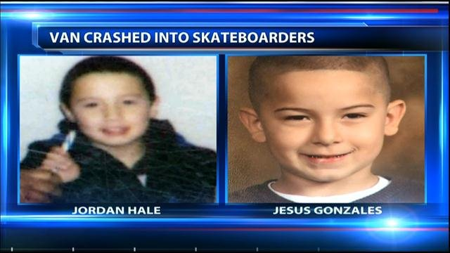 Jorden Hale, 9, was killed. His friend, 6-year-old Jesus Gonzales, is in the hospital and faces a long road to recovery.