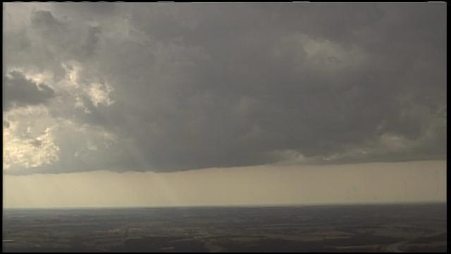 Storm clouds near Kansas City