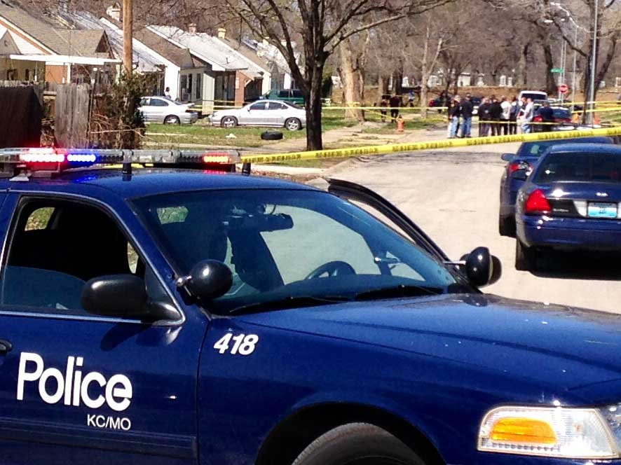 A shooter is still on the run after gunning down a man in Kansas City. (Eric Smith/KCTV)