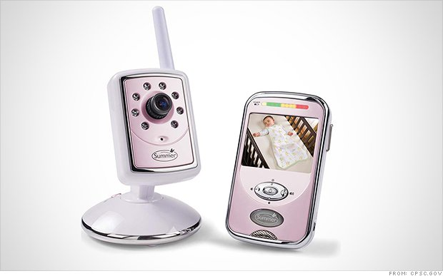 Summer Infant is recalling about 800,000 rechargeable batteries used in baby video monitors because of a burn hazard.