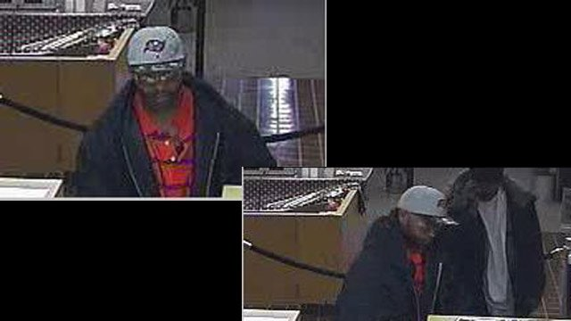 Surveillance photos of one of the UMB Bank robbers.