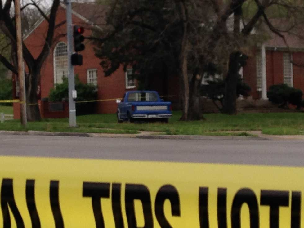 Cleveland/Cleaver shooting scene (Rob Rhodes/KCTV5)