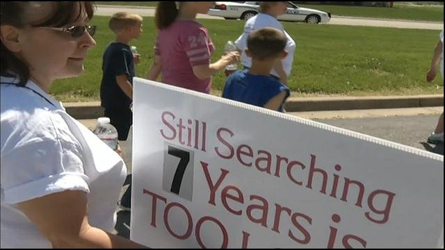 Signs all over Belton to remind the community of Kopetsky's unsolved disappearance, and the family hopes people will come with new information to help find her.