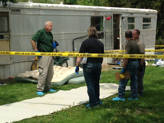 Authorities in Pettis County are investigating after human remains were found in a Sedalia trailer park and in a nearby wooded area.