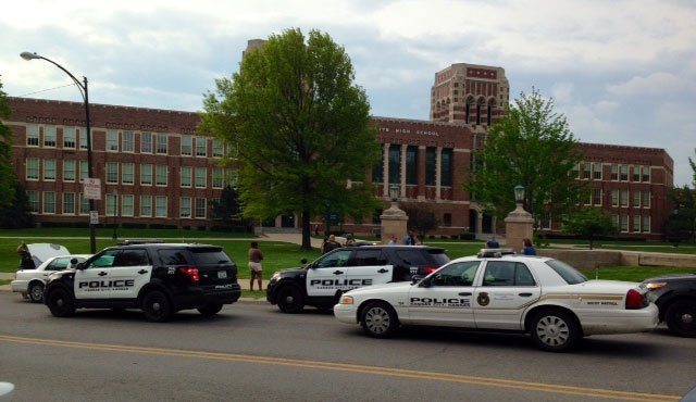 No students were evacuated from the school, which is located at 2501 Minnesota Ave.
