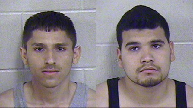 20-year-old Valdemar Rivera-Madrigal of Kansas City and 23-year-old Cesar Omar Rivera-Valencia of Montebello, CA.