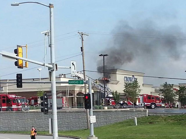 Fire causes extensive damage to Crowley Furniture in