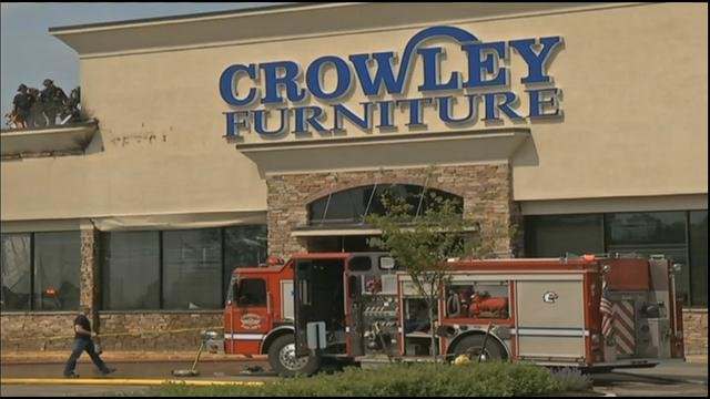Owner Hopes To Reopen Fire Damaged Crowley Furniture Before Anniversary