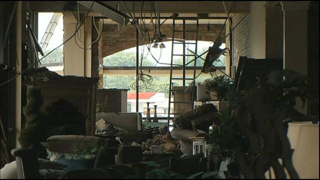 Goal is to reopen fire damaged Crowley Furniture by Dec