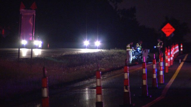 A motorcyclist was killed after crashing in a construction zone on Interstate 635.  The accident happened just before 11 p.m. Saturday near the Highway 9 exit.