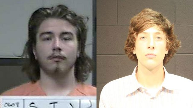 Tyler Smallwood, left, and Mathew Volland, knew 25-year-old Forrest Fuller, the man they are accused of killing.