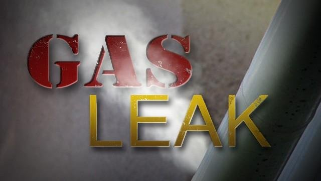 Kansas Gas Services is on the scene and is investigating what caused the leak. (KCTV5)