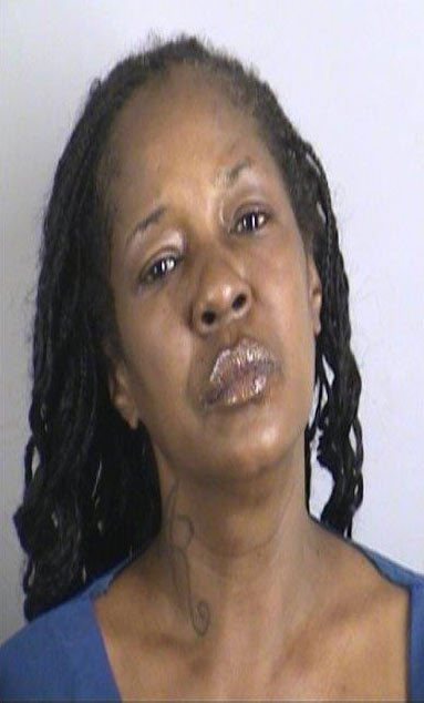 Aline Rembert is charged with robbery and armed criminal action. She's being held on a $100,000 bond.