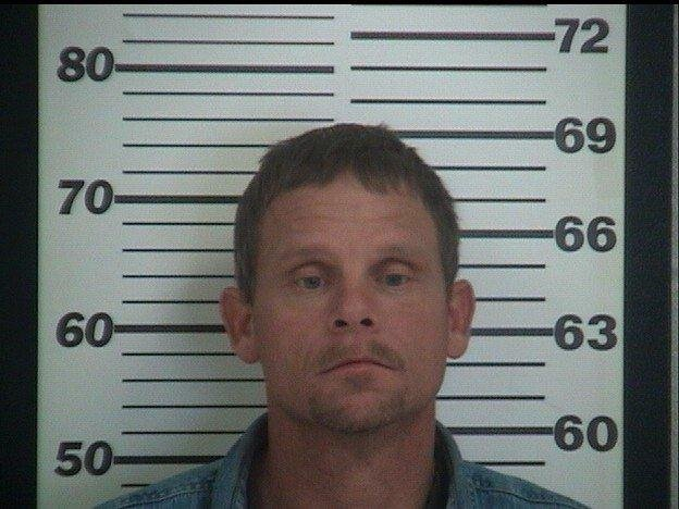 Police say Tommy J. Kitchell was cutting down telephone wires in Platte County and left some big clues at the crime scene.