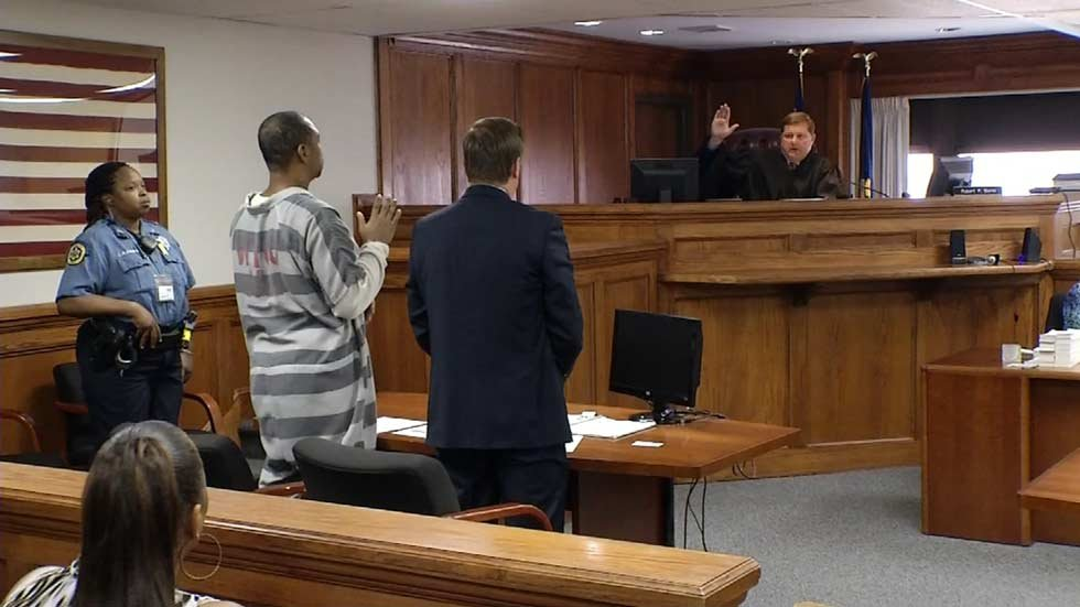 Christopher Bradley Stewart in court on Friday.