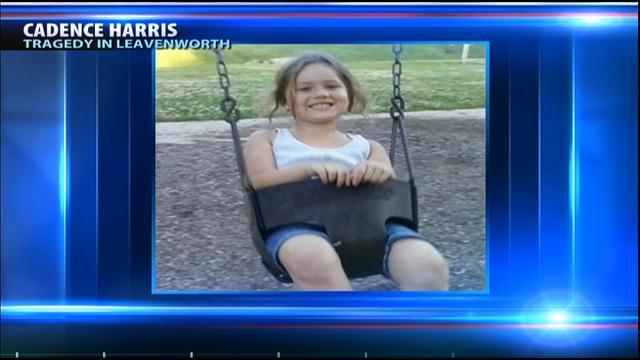 5-year-old Cadence Harris, of Leavenworth.