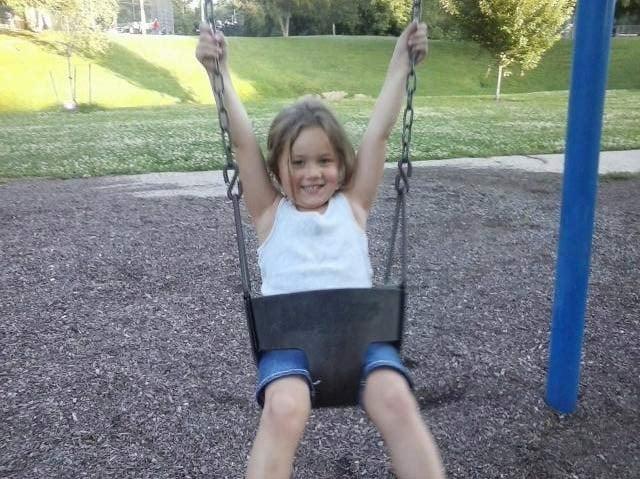 Cadence Harris, age 5.