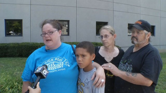Cadence's mother, Christina Harris, left, said she and Marcus McGowan, the man who allegedly kidnapped the 5-year-old on Friday, got into a fight.