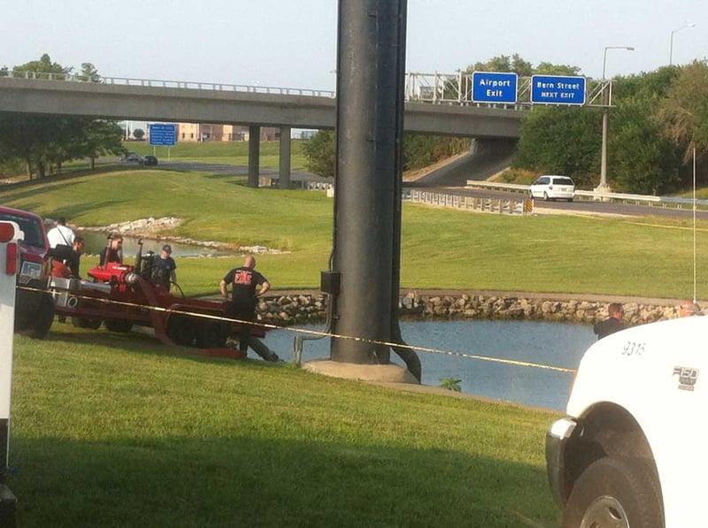 Body found in fountain at kansas city international for International motors st charles mo
