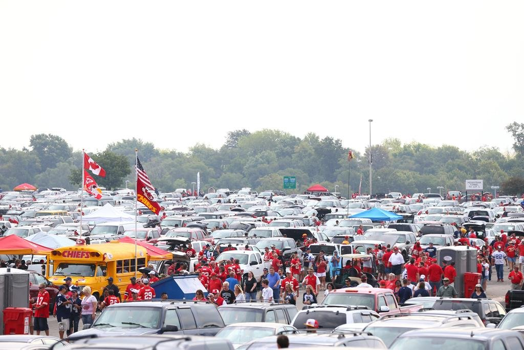 Enhancements to the parking operation for the 2014 season will be in effect after a significant, encompassing review of traffic and parking issues facing fans on game day. (Kansas City Chiefs via Twitter @KCChiefs)