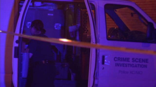 The shooting happened near East 39th Street and Garfield Avenue just before 4 a.m. Sunday.