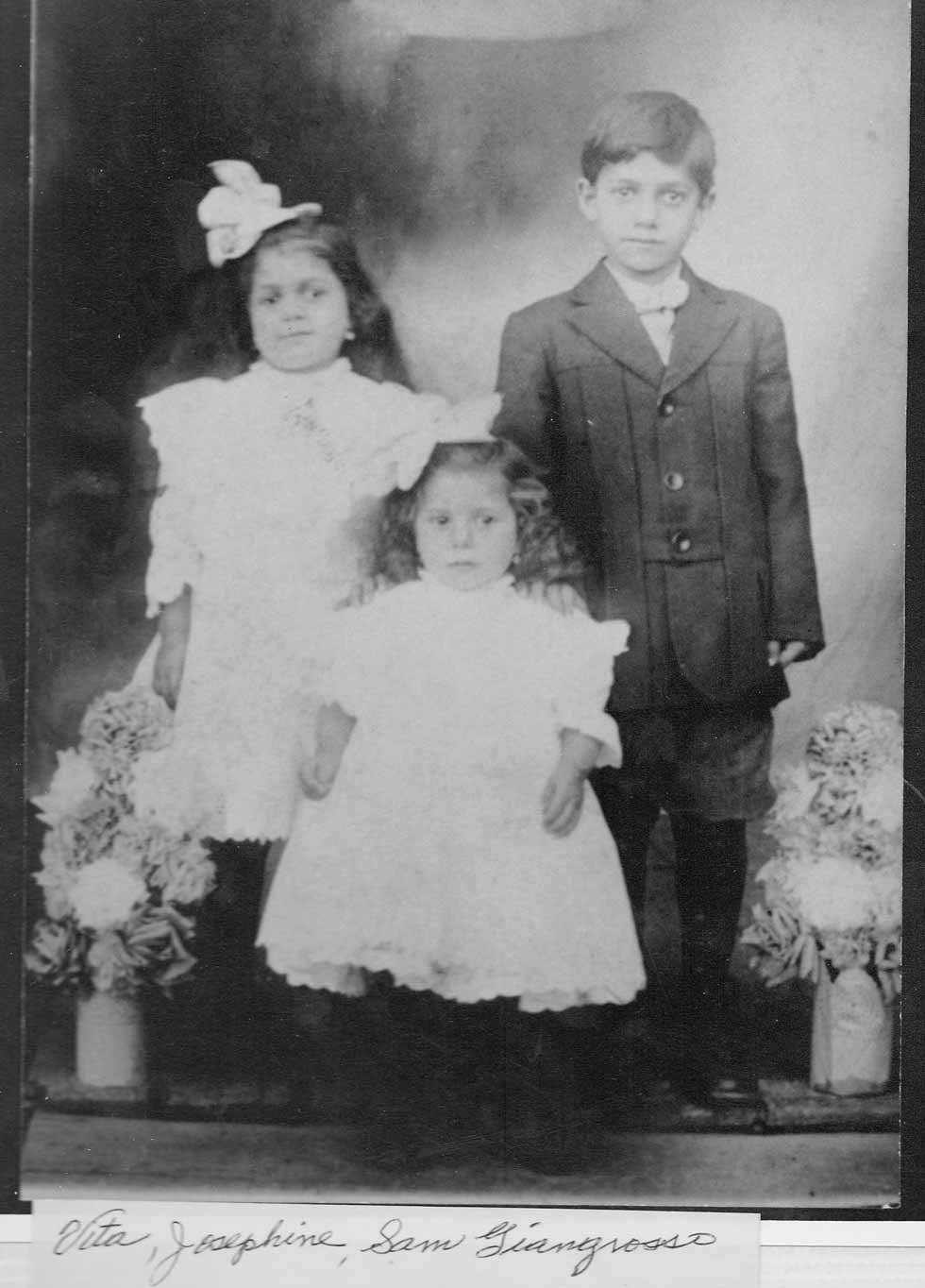 Josephine and her siblings as kids.