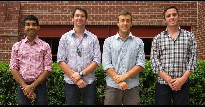 Four students in the Materials Science and Engineering department at North Carolina State University teamed up to invent a nail polish that changes color when it comes in contact with the drugs.