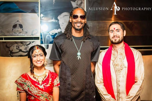 A typical job for a wedding photographer from Rock Island turned into anything but, when Snoop Dogg got involved. The chance encounter's now being shared the world over. (Allusion Photography)