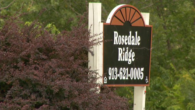 City officials were posting 15-day notices Thursday afternoon on each apartment door at the Rosedale Ridge Apartments located at Federal Avenue and South Mill Street.