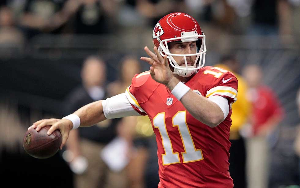 Alex Smith was perfect. At least, in terms of quarterback rating.