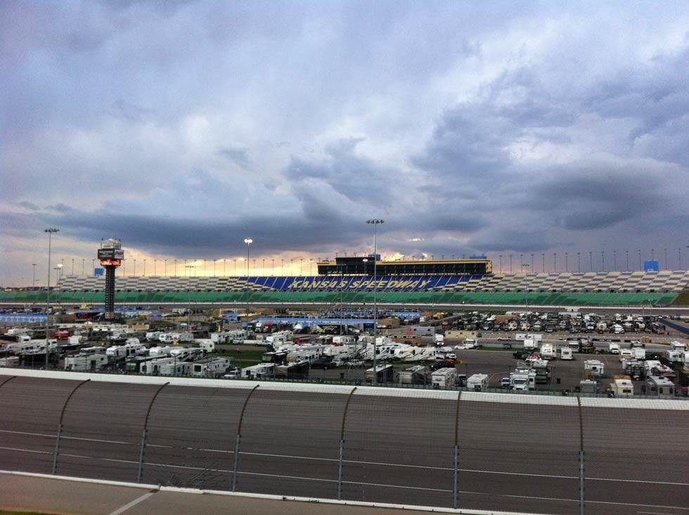 The excitement level over the next two Chase races could very well vary from fan to fan. (KCTV5)