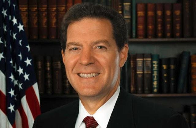 The bill goes against previous tax cuts championed by Brownback. He says his decision is in an effort to defend Kansans. (File)
