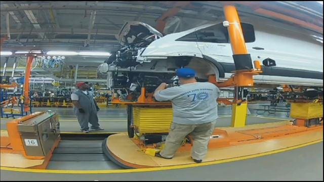 Ford Motor Co. said Thursday that it's adding 1,200 workers and another shift to a Missouri plant that makes its new Transit van.