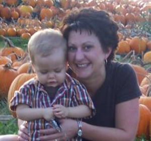 © Picture of Cara Jo Roberts and son courtesy of Kansas City Star