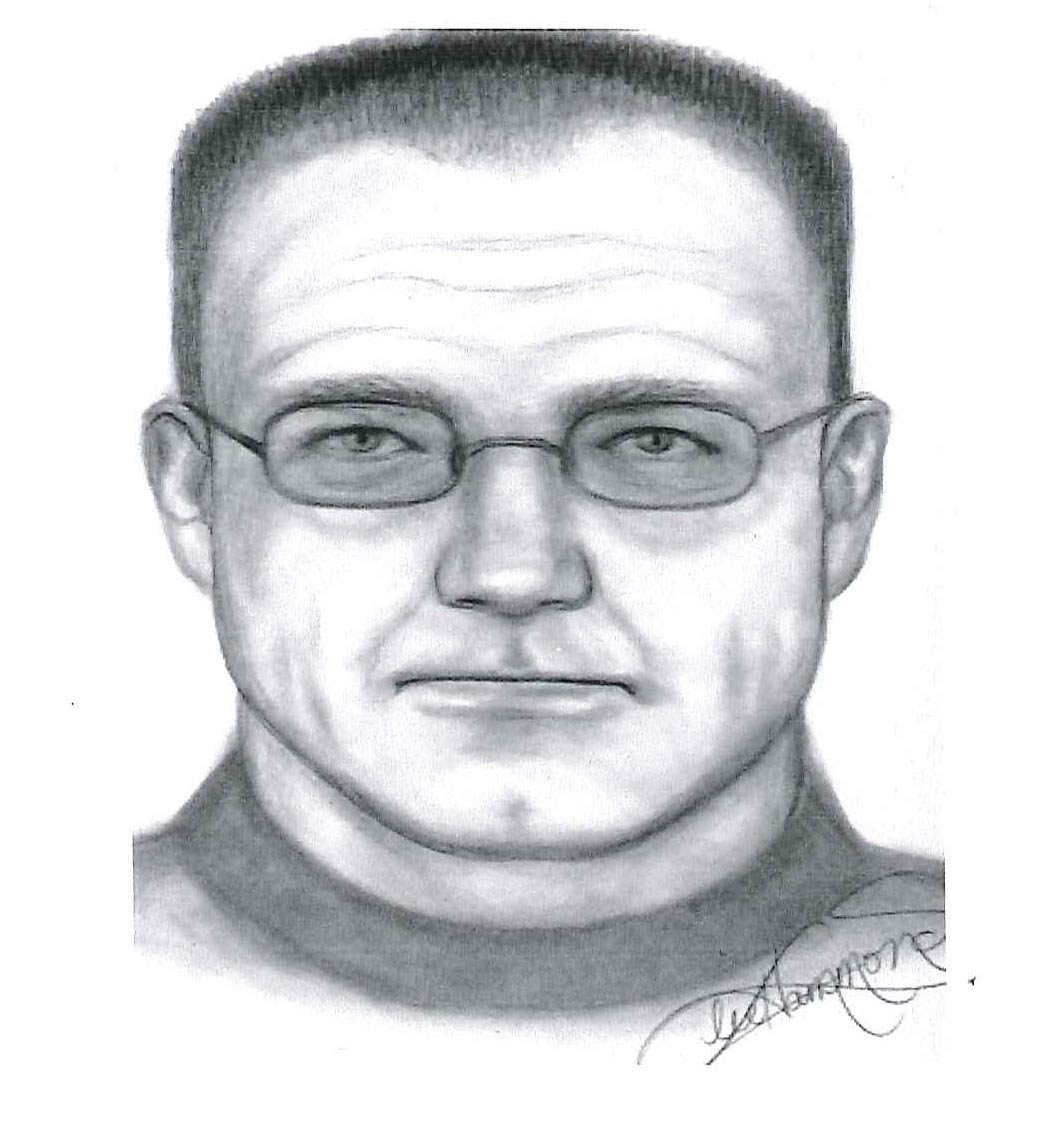 © Sketch of suspect in Nina Whitney murder courtesy of Kansas City Star