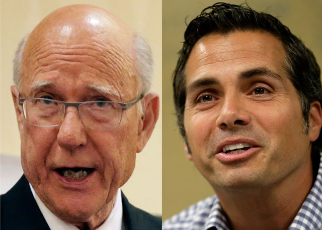 Kansas Sen. Pat Roberts hopes to use a debate to dampen some of the voter fervor for independent challenger Greg Orman, whose strong candidacy is threatening to end Roberts' 34-year congressional career. (Associated Press)