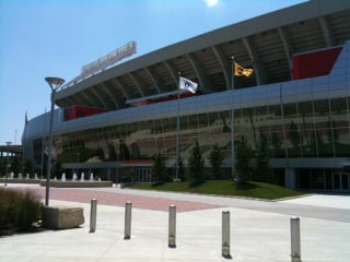 Arrowhead Stadium could play host to a World Cup game in 2026. (File photo)