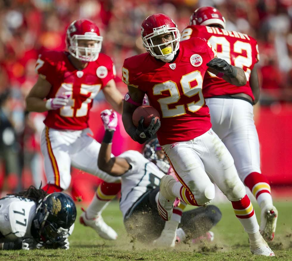 Eric Berry, cancer survivor and Pro Bowler