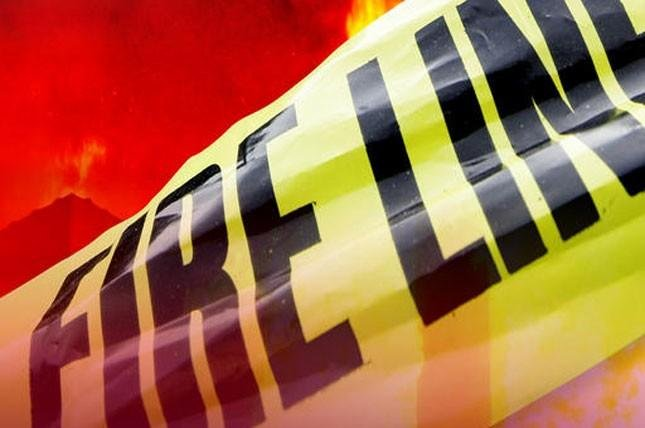 Deputies arrived on thescene in the 20000 block of S. Carriage Lane shortly after a neighbor reported the fire.(KCTV5)
