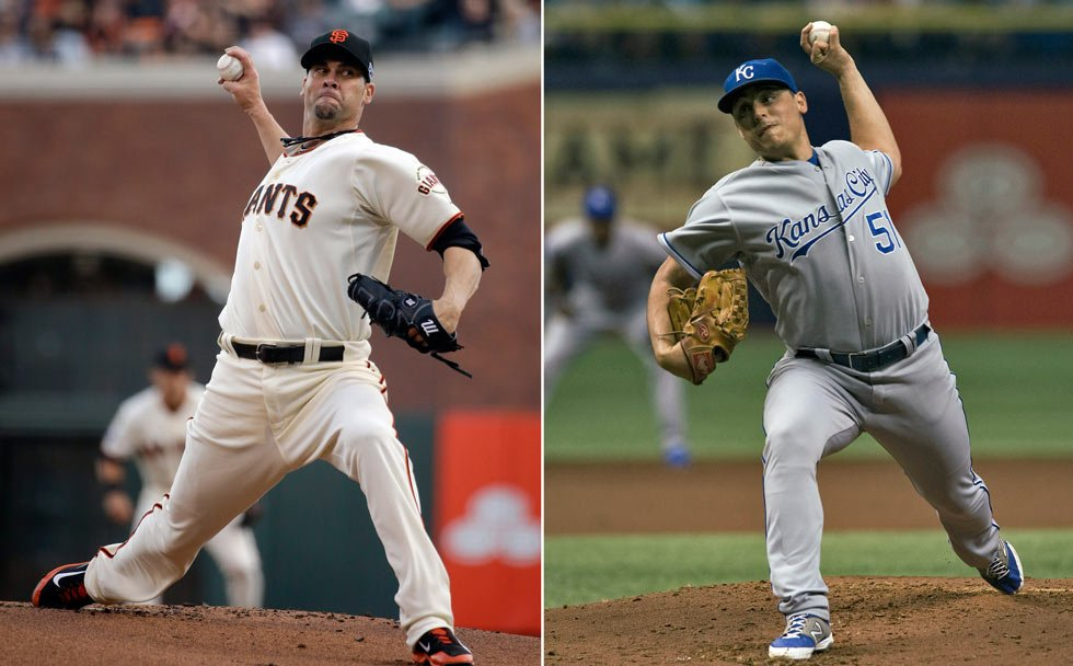 Vargas faces Vogelsong in Game 4 of baseball's World Series Saturday night, Oct. 25, 2014, in San Francisco. (AP Photo/File)
