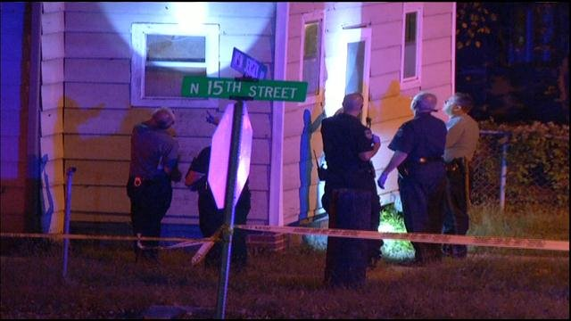 Shots rang out just after 7 p.m. in the 1400 block of New Jersey. According to police, the girl died at the scene.  There were up to seven people inside the house where the girl was shot.