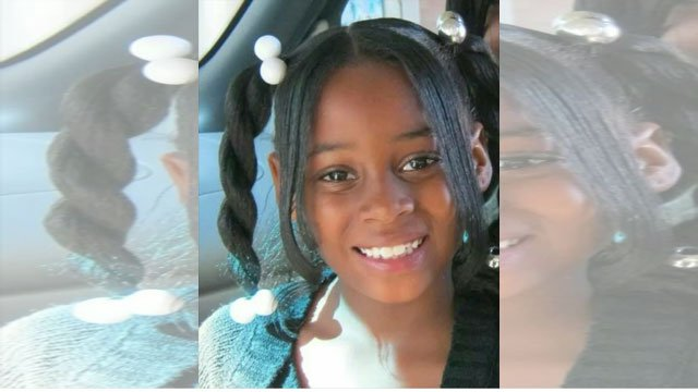 Machole J. Stewart was a student at Rosedale Elementary School. She was sitting inside a home that was struck by gunfire during a drive-by shooting.