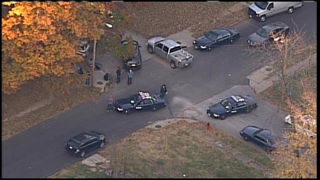 Police Swarm Area Of 67th And Bellefontaine To Look For